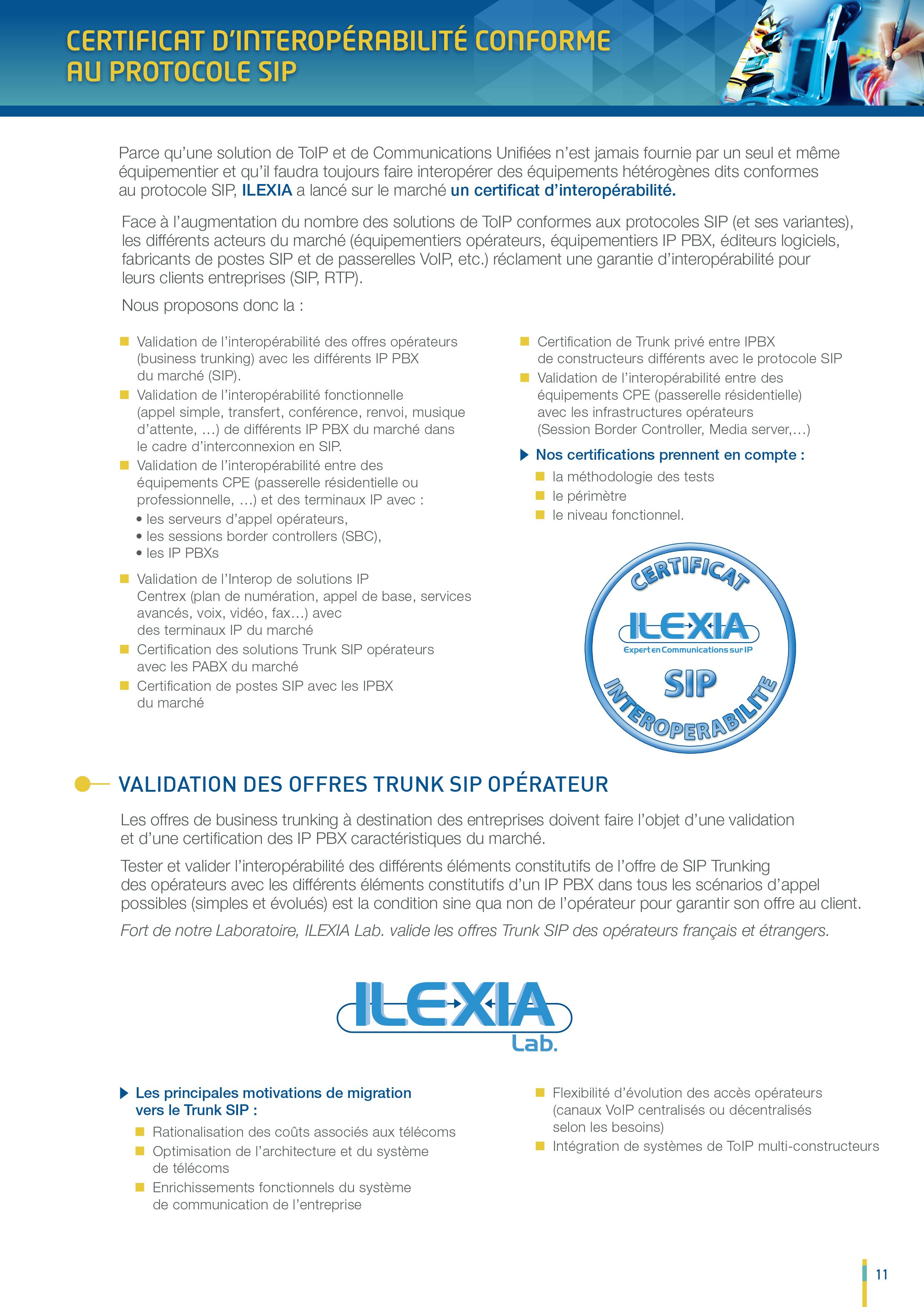 News - Ilexia - Expert en Communications sur IP